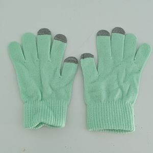 Mint & Grey Gloves